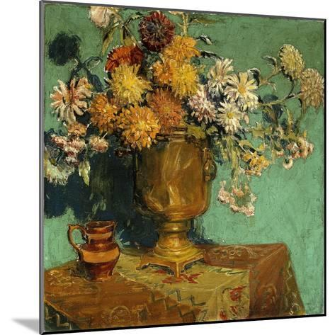 Flowers for Alice, 1928-Grant Wood-Mounted Giclee Print