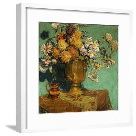 Flowers for Alice, 1928-Grant Wood-Framed Art Print