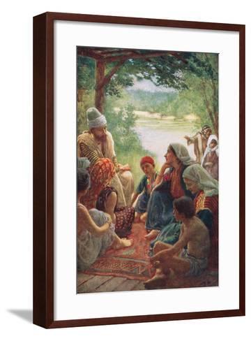 Lydia-Harold Copping-Framed Art Print