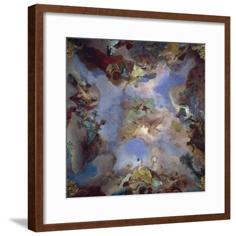 Four Parts of World-Gregorio Guglielmi-Framed Art Print