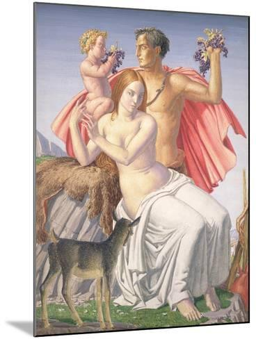 The Young Bacchus, 1930-Harry Morley-Mounted Giclee Print