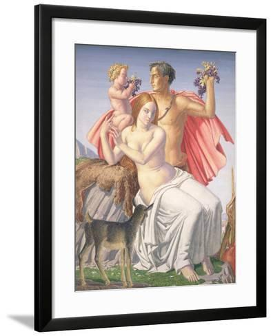 The Young Bacchus, 1930-Harry Morley-Framed Art Print