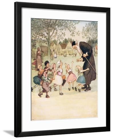 Usually a Vast Favourite with the Children-Hugh Thomson-Framed Art Print