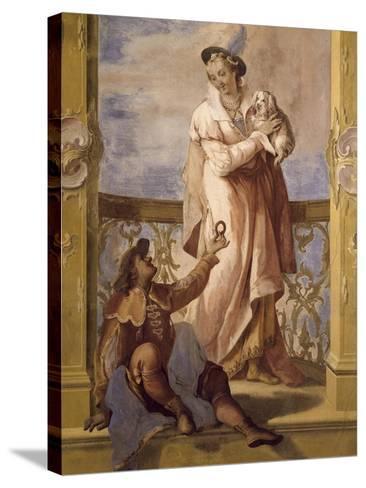 Fresco-Jacopo Guarana-Stretched Canvas Print