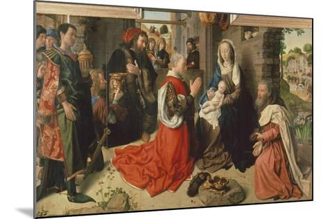 The Adoration of Magi-Hugo van der Goes-Mounted Giclee Print