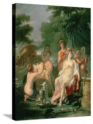 Venus at Her Toilet, 1760-Hugues Taraval-Stretched Canvas Print