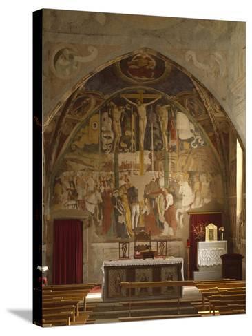 Frescoes-Giovanni Pietro Da Cemmo-Stretched Canvas Print