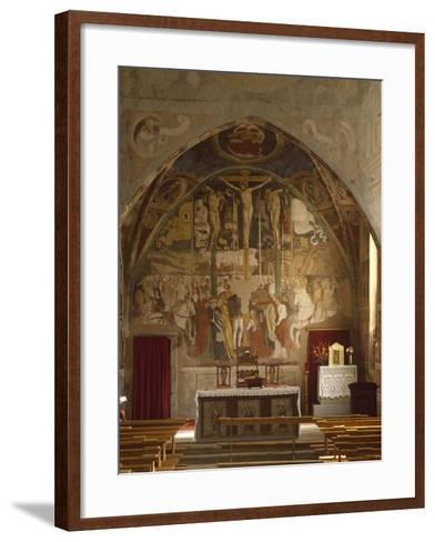 Frescoes-Giovanni Pietro Da Cemmo-Framed Art Print
