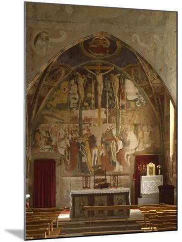 Frescoes-Giovanni Pietro Da Cemmo-Mounted Giclee Print