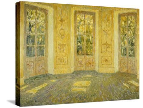Windows on the Parc; Fenetres Sur Le Parc, 1938-Henri Eugene Augustin Le Sidaner-Stretched Canvas Print