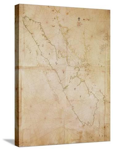 Ms 1288 Chart of Sumatra, 1653-Joan Blaeu-Stretched Canvas Print