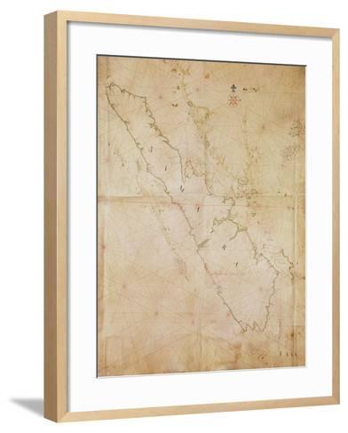 Ms 1288 Chart of Sumatra, 1653-Joan Blaeu-Framed Art Print