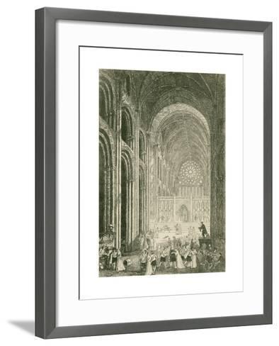 Paul's Walk-John Franklin-Framed Art Print