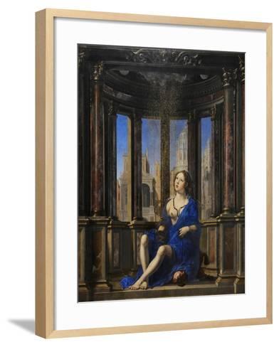 Jan Mabuse-Jan Gossaert-Framed Art Print