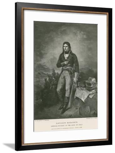 Napoleon Bonaparte-Jean Sebastien Rouillard-Framed Art Print