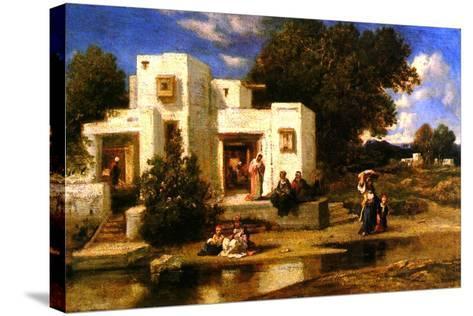 A Turkish House-Narcisse Virgile Diaz de la Pena-Stretched Canvas Print