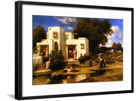 A Turkish House-Narcisse Virgile Diaz de la Pena-Framed Art Print