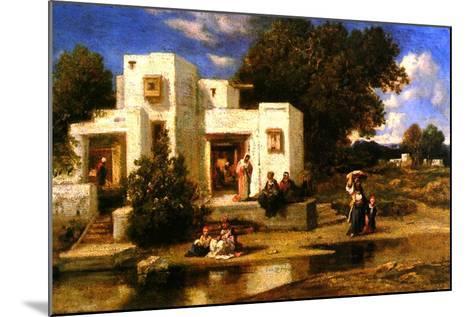 A Turkish House-Narcisse Virgile Diaz de la Pena-Mounted Giclee Print