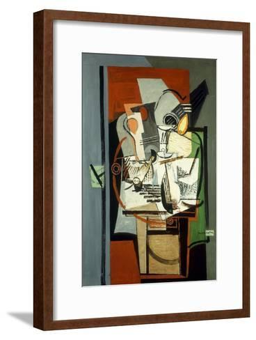 Still Life; Nature Morte, C.1930-Louis Marcoussis-Framed Art Print