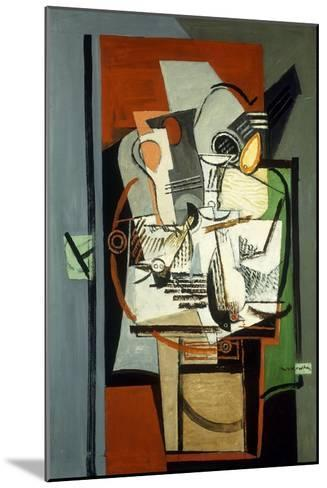 Still Life; Nature Morte, C.1930-Louis Marcoussis-Mounted Giclee Print