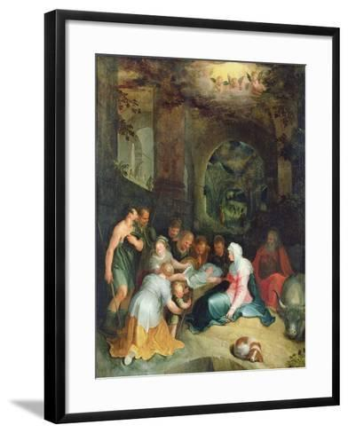The Adoration of the Shepherds-Karel Van Mander-Framed Art Print
