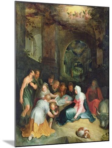 The Adoration of the Shepherds-Karel Van Mander-Mounted Giclee Print