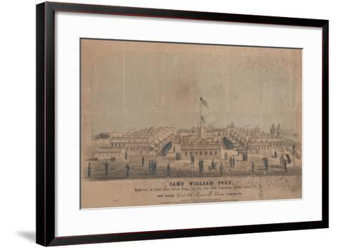 Camp William Penn, C.1864-Louis N. Rosenthal-Framed Art Print