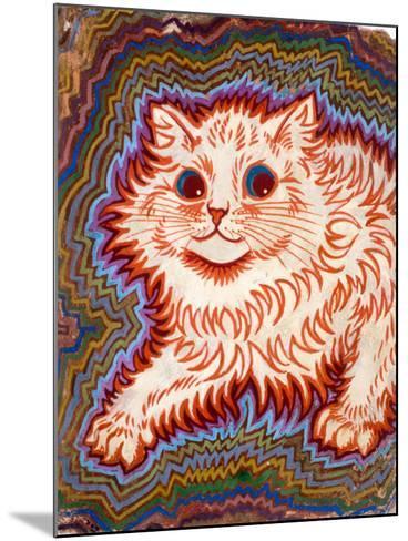 Kaleidoscope Cats III-Louis Wain-Mounted Giclee Print