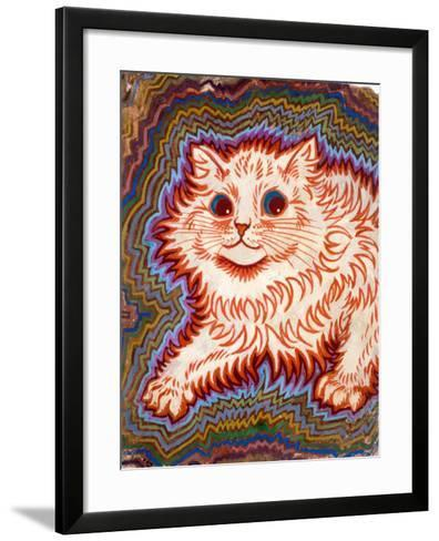 Kaleidoscope Cats III-Louis Wain-Framed Art Print