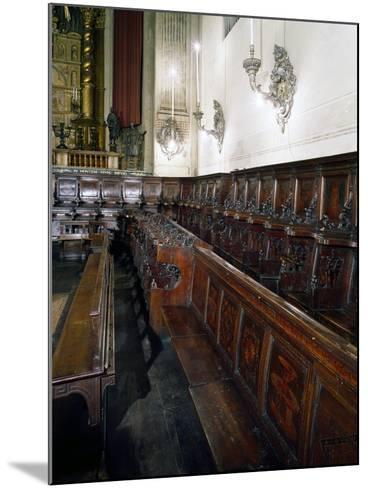 Wooden Choir-Lorenzo Da Lendinara-Mounted Giclee Print