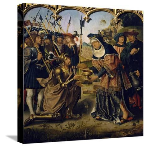 Abraham--Stretched Canvas Print