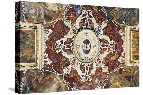 Vault from Merchants with Stucco, 1549-Pastorino De Pastorini-Stretched Canvas Print