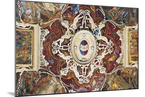 Vault from Merchants with Stucco, 1549-Pastorino De Pastorini-Mounted Giclee Print