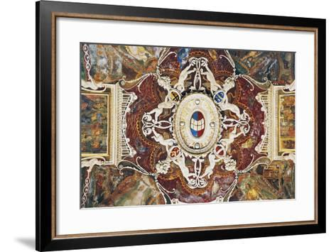 Vault from Merchants with Stucco, 1549-Pastorino De Pastorini-Framed Art Print