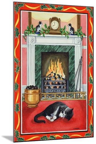 Christmas Fire-Lavinia Hamer-Mounted Giclee Print