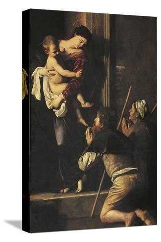 Madonna of Loreto, C.1606-Caravaggio-Stretched Canvas Print