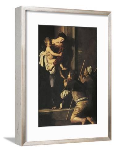 Madonna of Loreto, C.1606-Caravaggio-Framed Art Print