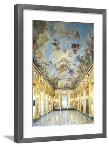 Apotheosis of Medici Dynasty-Luca Giordano-Framed Art Print