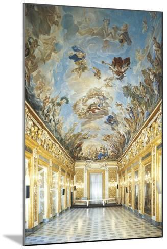 Apotheosis of Medici Dynasty-Luca Giordano-Mounted Giclee Print