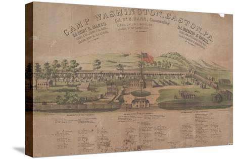 Camp Washington, Easton, Pa-Max Rosenthal-Stretched Canvas Print