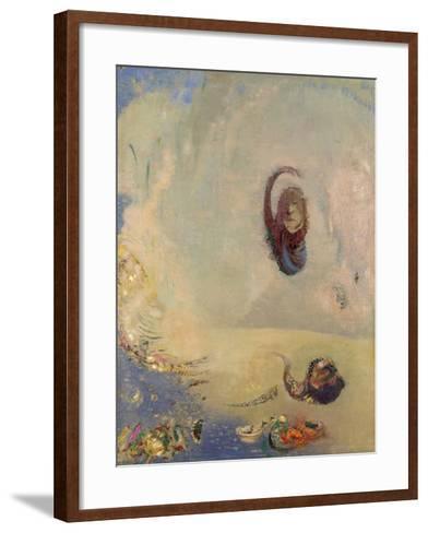 Oannes, C.1910-Odilon Redon-Framed Art Print