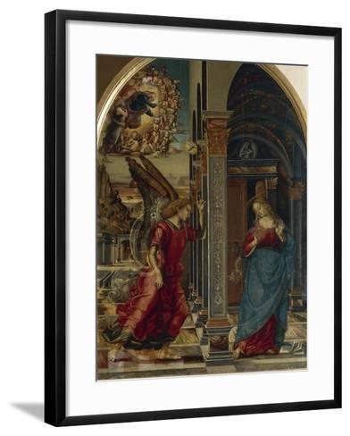 The Annunciation, 1491-Luca Signorelli-Framed Art Print