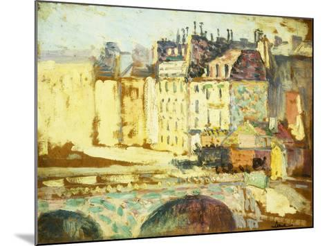 Paris, Le Pont Neuf-Maximilien Luce-Mounted Giclee Print