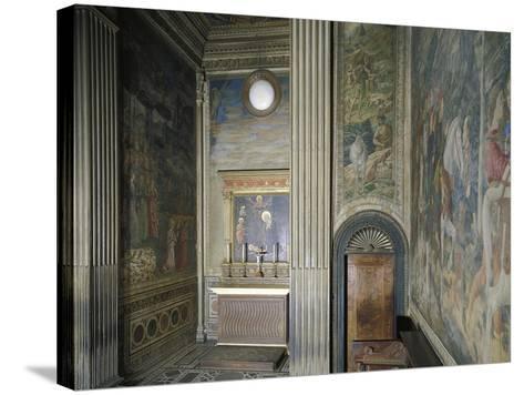 Frescoed Chapel-Michelozzo Michelozzi-Stretched Canvas Print