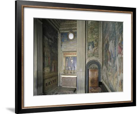 Frescoed Chapel-Michelozzo Michelozzi-Framed Art Print