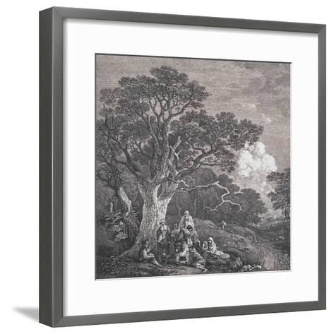 The Gipsies, C.1754-Thomas Gainsborough and Joseph Wood-Framed Art Print