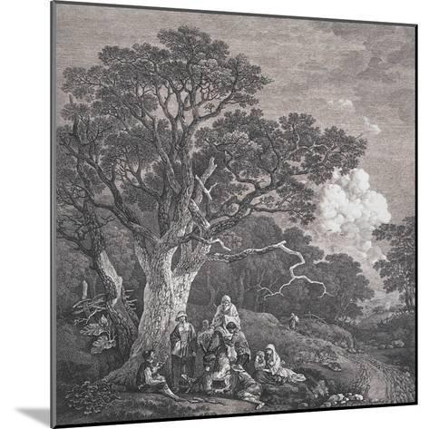 The Gipsies, C.1754-Thomas Gainsborough and Joseph Wood-Mounted Giclee Print