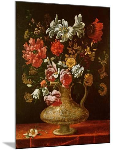 Still Life with Flowers-Thomas Hiepes-Mounted Giclee Print