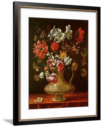 Still Life with Flowers-Thomas Hiepes-Framed Art Print