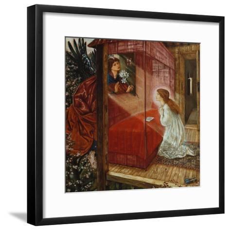 The Annunciation-Edward Burne-Jones-Framed Art Print